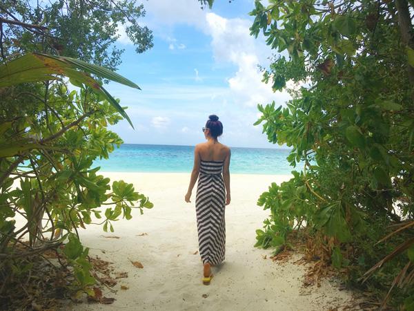 Lần đến Maldives này cô cũng không quên ghé thăm thủ đô Male để khám phá những nét đặc trưng của con người và cuộc sống của người dân nơi đây. Cô tâm sự, đây thực sự là chuyến đi nhớ đời với mình.