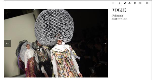 rang Khiếu còn trình diễn trong các show nhỏ tại: Polimoda (ĐH thời trang danh tiếng tại Florence) - Secoli (Milan). Hình ảnh của các show diễn này xuất hiện trên một số tạp chí lớn như Vogue Ý.
