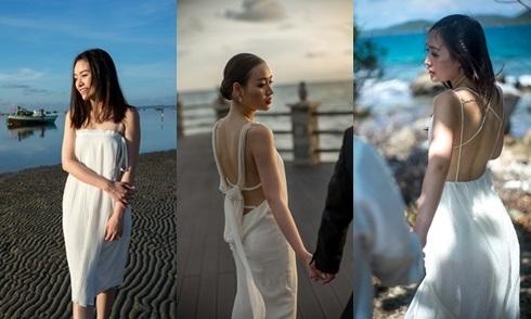 Cô dâu Sài Gòn diện 6 trang phục sexy trong bộ ảnh cưới
