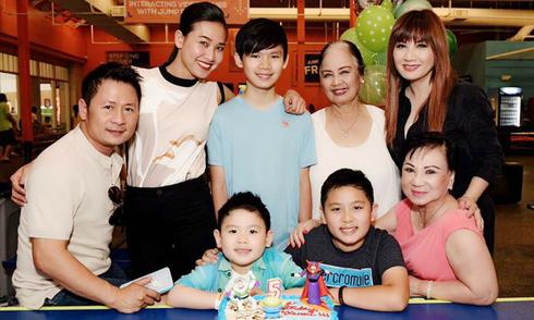 Vợ cũ Bằng Kiều: 'Đừng ngạc nhiên khi Dương Mỹ Linh xuất hiện chung với tôi và các con'