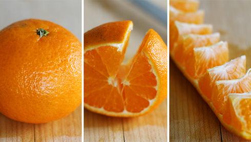 Cách bóc cam đơn giản không phải ai cũng biết