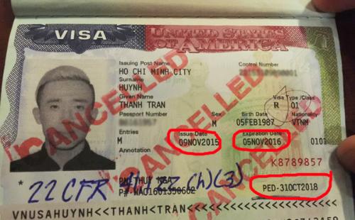 Lưu ý khi xin visa Mỹ để tránh rủi ro như MC Trấn Thành