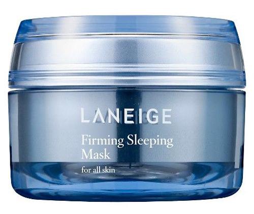 Firm Sleeping Mask, Laneige Nằm trong top sản phẩm bán chạy nhất của hãng trong nhiều năm, mặt nạ ngủ Firm Sleeping Mask của Laneige cũng là một trong những sản phẩm tốt nhất trên thị trường. Firm Sleeping Mask nổi tiếng với công dụng trẻ hóa làn da và hương thơm thư giãn từ tinh dầu cam, hoa hồng và đàn hương.  Giá: 30 USD  khoảng 670.000 đồng