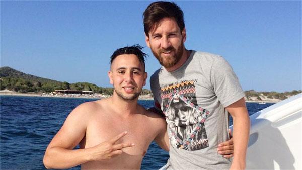 Nhờ sự liều lĩnh và can đảm, Suli được gặp Messi