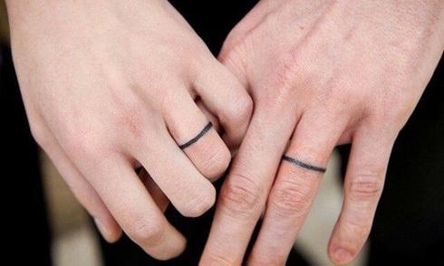 20 mẫu hình xăm nhẫn cưới ý nghĩa cho uyên ương