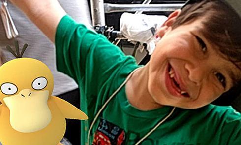 Cậu bé 6 tuổi thoát khỏi chứng tự kỷ nhờ chơi Pokemon Go
