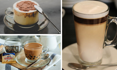 Những phiên bản độc đáo của tách cà phê trên thế giới