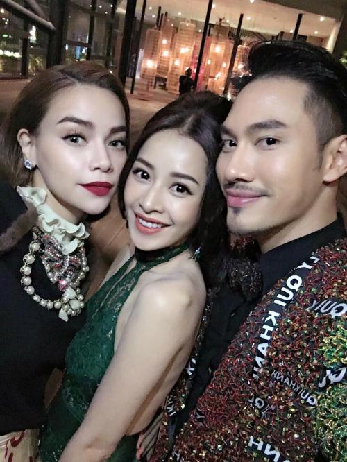 Chi Pu gặp gỡ Hồ Ngọc Hà và Lý Quí Khánh:
