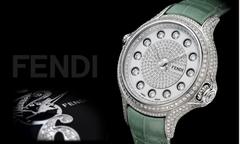Đồng hồ đính đá quý đổi màu tiền tỷ của Fendi