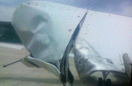 Máy bay Vietnam Airlines bị phát hiện rách đuôi sau khi hạ cánh