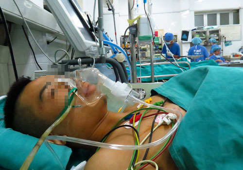 Ca ghép thận tự thân hy hữu cho chàng trai trẻ bị tai nạn