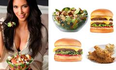 Những món ăn 'hút hồn' tín đồ fastfood Kim Kardashian