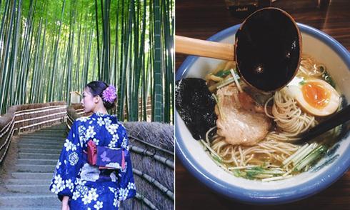 Chuyến đi Nhật ngập trong đồ ăn của cô nàng Sài Gòn