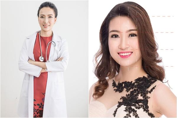 Khuôn mặt của Hoa hậu Mỹ Linh không đạt tỷ lệ vàng - Làm đẹp