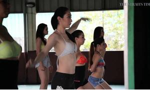 Bên trong lò đào tạo hoa hậu khắc nghiệt ở Philippines