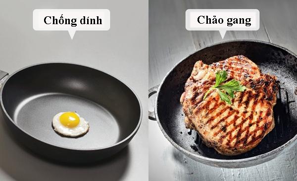 Một lý do thất bại khi muốn rán đồ ăn là không sử dụng chảo chống dính.khác cho sự thất bại khi nấu thịt với một lớp vỏ giòn đang sử dụng chảo không dính.  bạn muốn được tốt hơn bằng cách sử dụng chúng cho gà rán và bánh kếp. Đối với thịt, hãy thử sử dụng một chảo nướng hoặc một chảo gang.