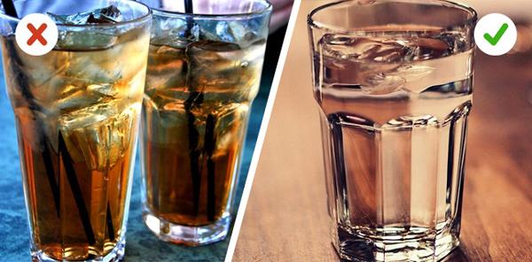 Từ bỏ các loại đồ uống chứa nhiều calories