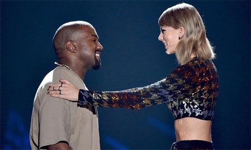 Chồng Kim Kardashian muốn làm lành với Taylor Swift