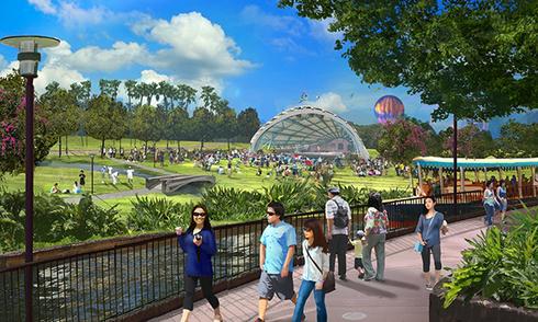 Công viên Disneyland nghìn tỷ ở Hà Nội
