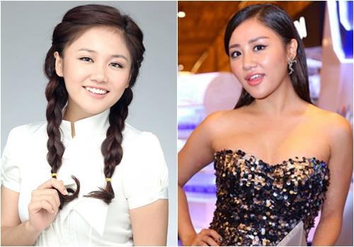 Dù khuôn mặt có nhiều thay đổi song Văn Mai Hương đã khẳng định cô không đụng chạm dao kéo.