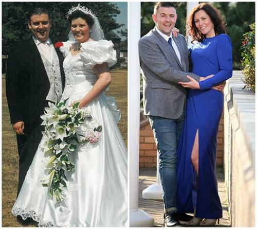 Nhờ giảm gần 64 kg mà cặp đôi này trông còn trẻ trung hơn