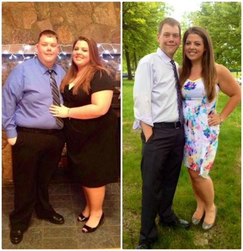 Danny và Kalean quyết định cùng nhau giảm cân để có sức khỏe tốt hơn. Họ đã giảm được tổng cộng 147 kg.