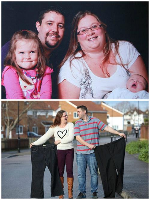 Ít người có thể tin được rằng cặp đôi này đã từng phải mặc đồ dành cho người quá khổ.