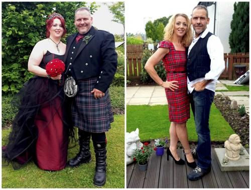 Mark và Louise đã giảm được tổng cộng 95 kg.