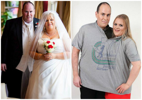 Noel và Leisa đã giảm tổng cộng 152 kg.