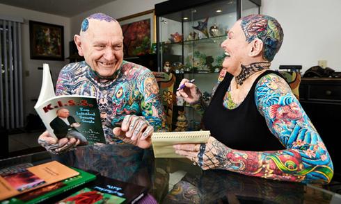 Cặp đôi sở hữu nhiều hình xăm nhất thế giới