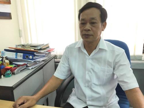 Bác sĩ Nguyễn Văn Tiến, Viện Dinh dưỡng Quốc gia. Ảnh: Khánh Huyền.
