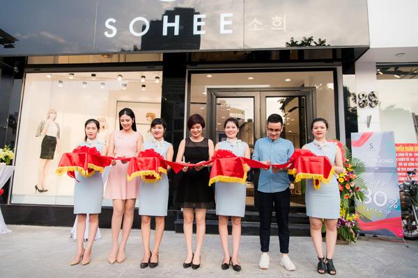 Sohee ưu đãi 30% tại showroom Hà Nội
