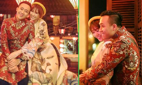 Trấn Thành khoe ảnh ôm ấp Hari Won