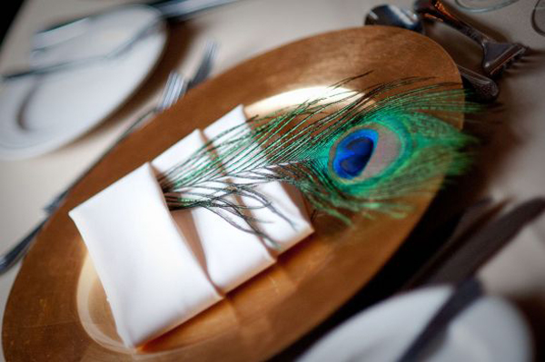 [Caption]Màu sắc của bộ lông cùng nghìn con mắt ở đuôi được coi là yếu tố may mắn, thúc đẩy danh tiếng cũng như tăng cường bảo vệ người thân.