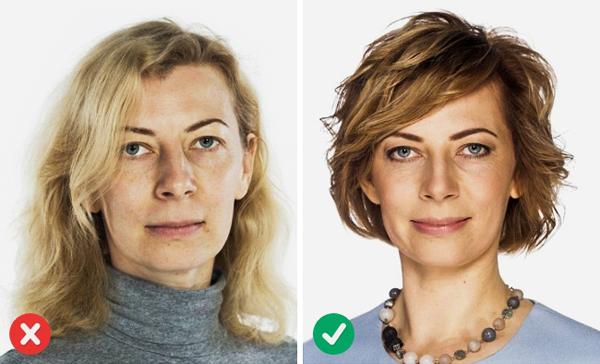 1. Chọn kiểu tóc phù hợp với dáng mặt