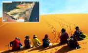 Trekking qua những đồi cát tuyệt đẹp ở Bình Thuận