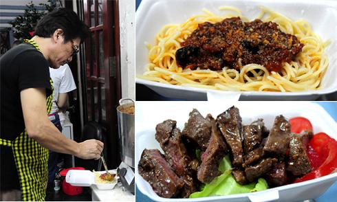 Quán mì spaghetti trong hẻm Sài Gòn của đầu bếp 5 sao