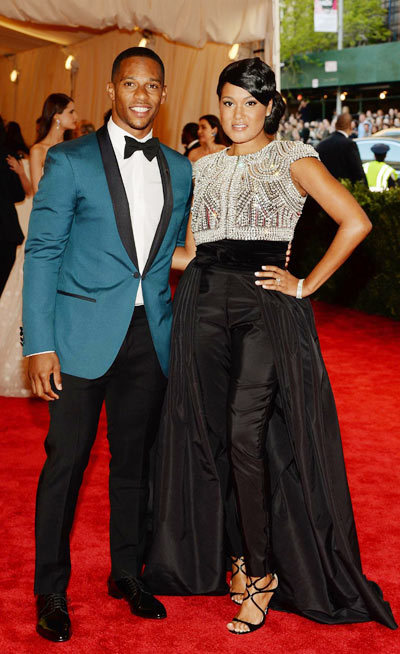 Elaina Watley vợ chưa cưới của vận động viên bóng bầu dục Victor Cruz.