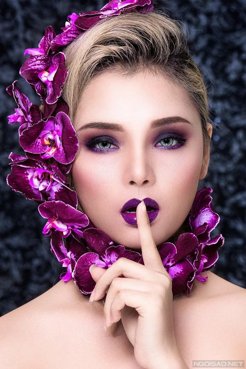 Bộ ảnh được thực hiện với sự hỗ trợ của Model: Latin Trâm Anh , Makeup: Hùng Việt, Photo: Fynz