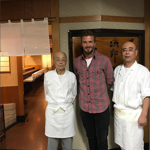 Quán sushi huyền thoại được Beckham ca tụng hết lời
