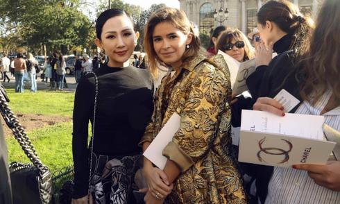 Trâm Nguyễn hội ngộ fashionista thế giới tại Paris Fashion Week