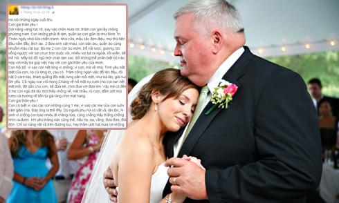 Ông bố có 5 bà vợ viết thư dạy con cách giữ chồng