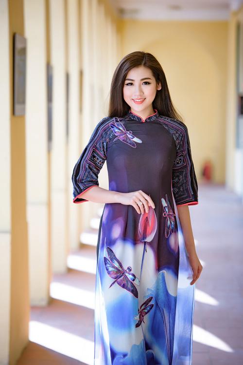 Tú Anh diện áo dài đa phong cách