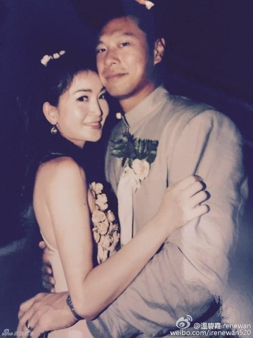 Ôn Bích Hà là người đẹp đóng phim nóng hiếm hoi có được hạnh phúc viên mãn bên chồng tỷ phú.