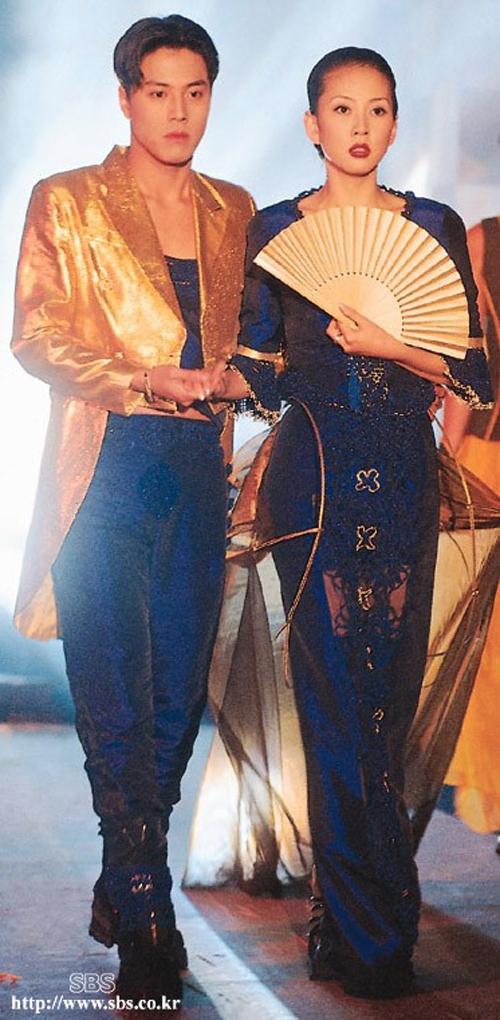 Kim Nam Joo sánh bước bên bạn diễn Han Jae Suk trong phim Người mẫu.