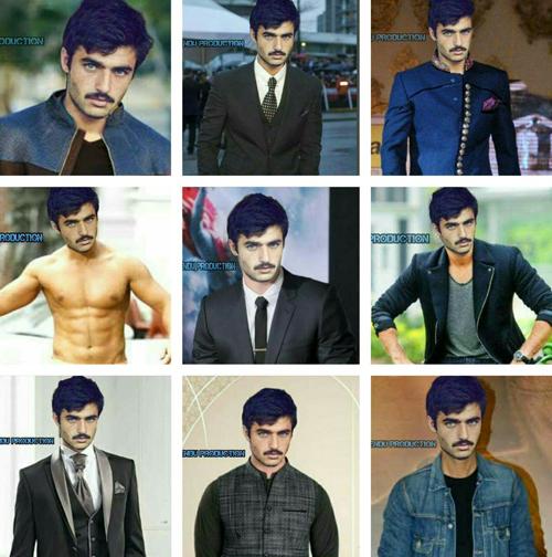 Những hình ảnh đầu tiên của Arshad trong vai trò người mẫu. Ảnh: Twitter