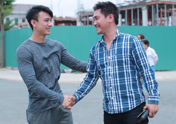 Khánh Hiền bị người yêu bắt gặp đang thân mật với bạn diễn