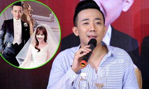 Trấn Thành 'né' câu hỏi về đám cưới với Hari Won