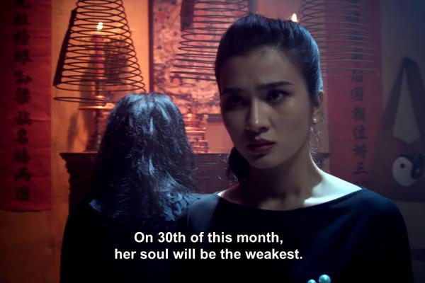 Kim Tuyến đối đầu 'hồn ma' trong phim mới