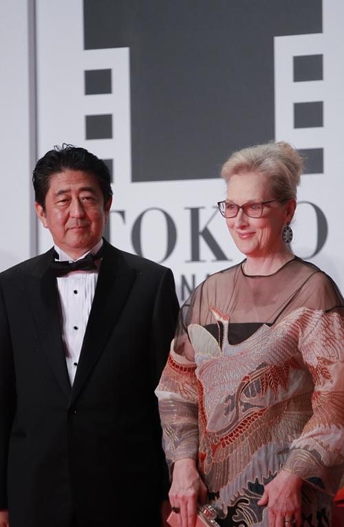 Liên hoan phim Tokyo còn có sự xuất hiện đặc biệt của Thủ tướng Nhật Bản - Shinzo Abe.